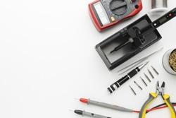Top view circuit reparing tool