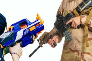 Competitive Shooting: Choosing Between Airsoft and Nerf