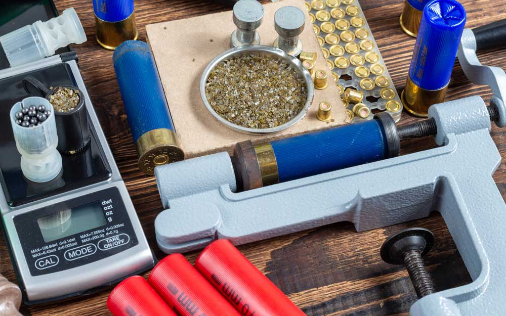 Reloading process shotgun shells with special reload