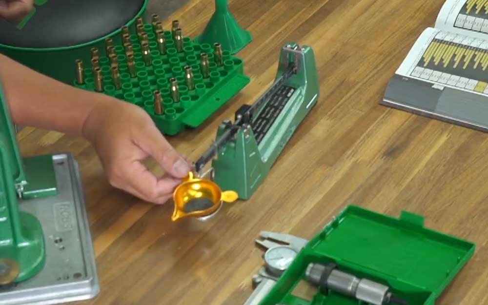 Use a Beam Scale for Reloading