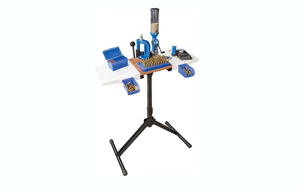 small reloading bench, especially if you live in a small apartment
