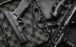 Weapons and military equipment for army
