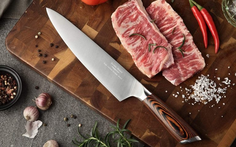 Kitchen Knife German X50CrMoV15 Stainless Steel