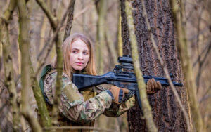 Best Airsoft MP5 rifles in the forest