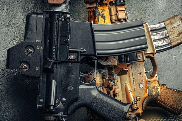 Modern weapon series.