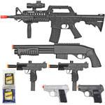 BBTac Airsoft Gun Package - Black Ops
