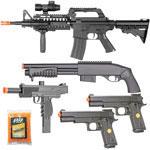BBTac Airsoft Gun Package Desert Raider