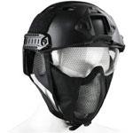 JFFCESTORE PJ Foldable Adjustable Half Mesh Mask