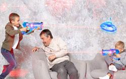 Lazer Shooting Game for Kids