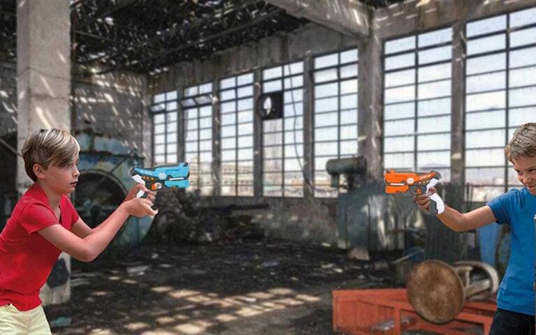 WenToyce 2 Pack Infrared Laser Tag Gun Set